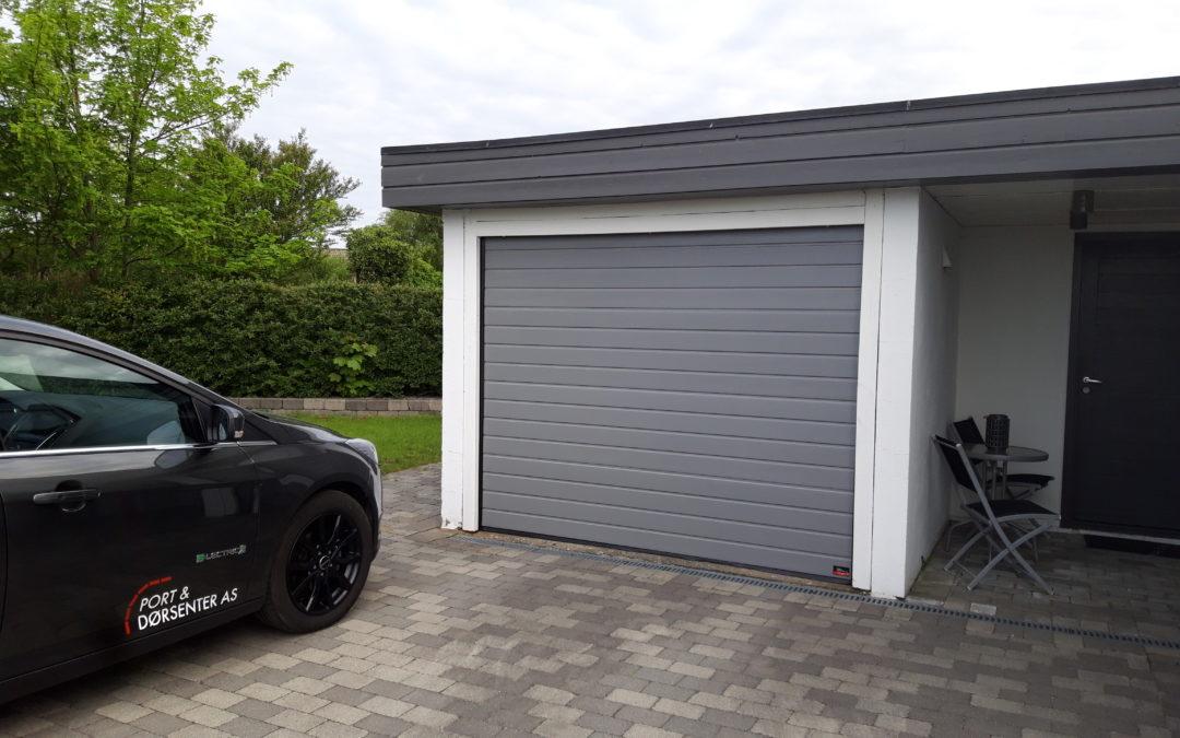 Hva skal du tenke på når du skal kjøpe garasjeport?